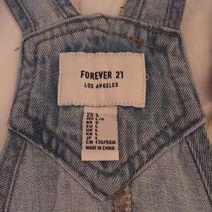 Forever 21 Skirts - Forever 21 Denim Overalls